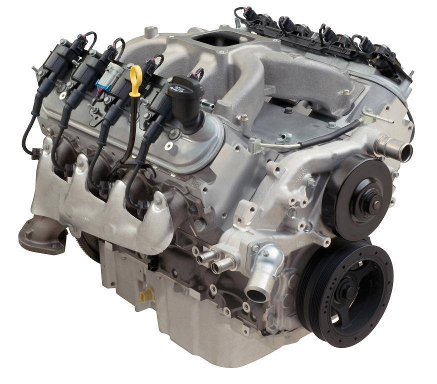 Chevrolet Performance Parts 19370412 Cpp Ls3 376cid 533hp Carbureted Crate Engine