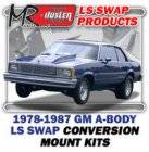 LS Engine Swap Kits - 1978-83 GM A Body & 78-87 El Camino LS Engine and Trans Conversion Mount Kits