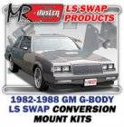LS Engine Swap Kits - 1982-88 GM G Body LS Engine and Trans Conversion Mount Kits