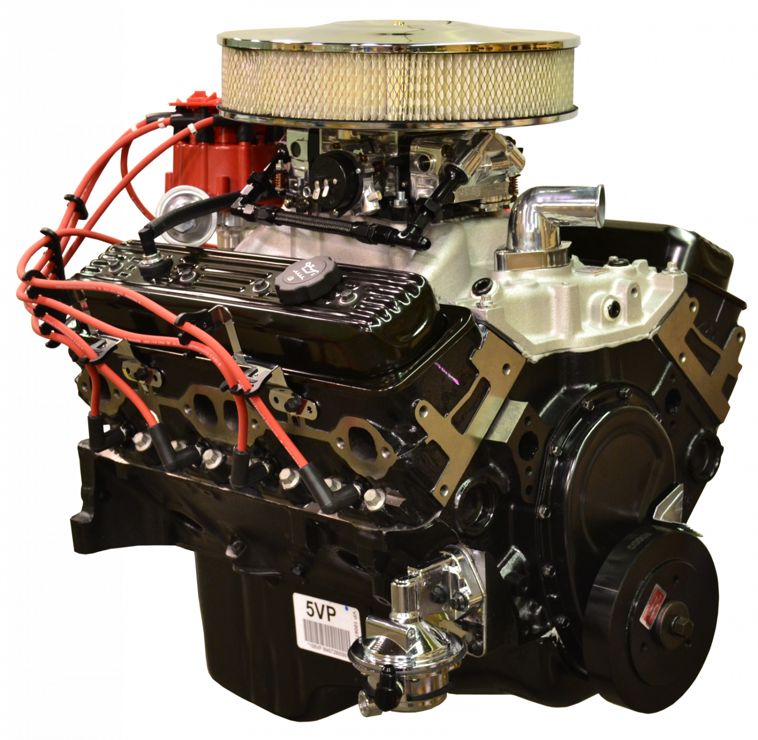 350 Chevy Engine Kit: 10067353 Pace Fuel Injected Chevy 350 350HP EFI Turnkey