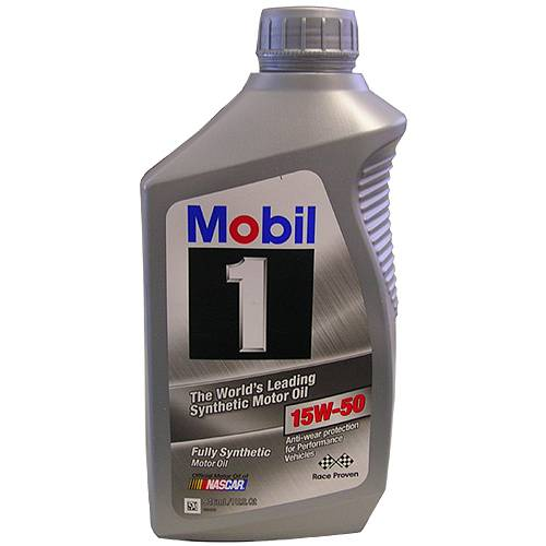 12347284 15w50 Mobil 1 Synthetic Oil Qt