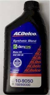 19293000 Acdelco Dexos1 Engine Oil 5w30 1 Quart