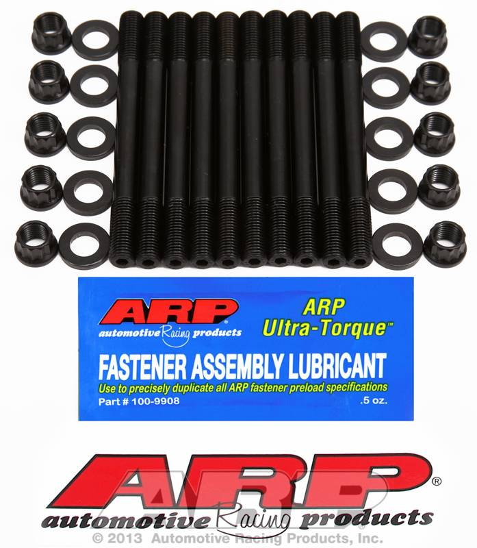 ARP - ARP - ARP2034204 - ARP Head Stud Kit- Toyota 3SGTE - 12 Point Nuts