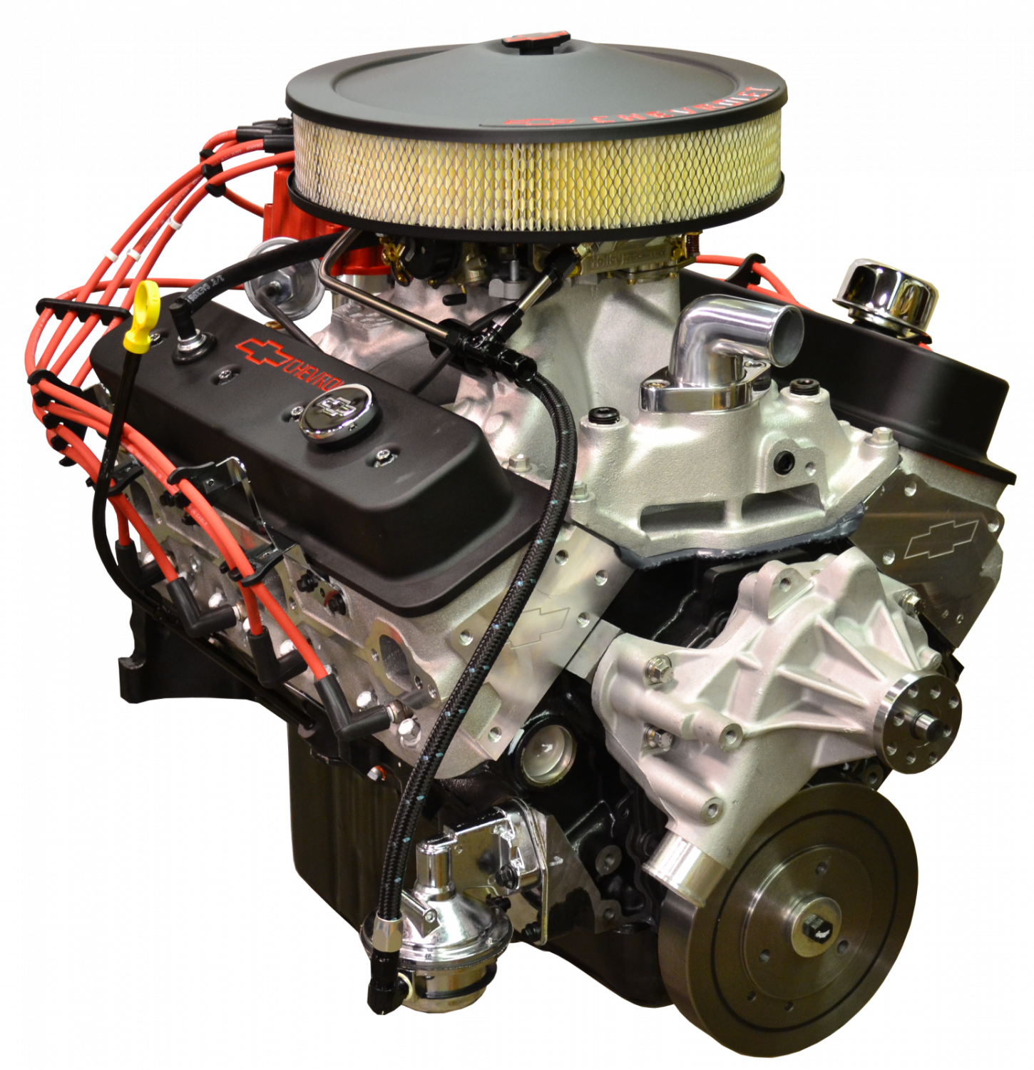Pace Performance Gmp 19355722 2x Prepped Primed Sp383 5 3 Vortec Crate Engine With Wiring Harness Free 435hp Black