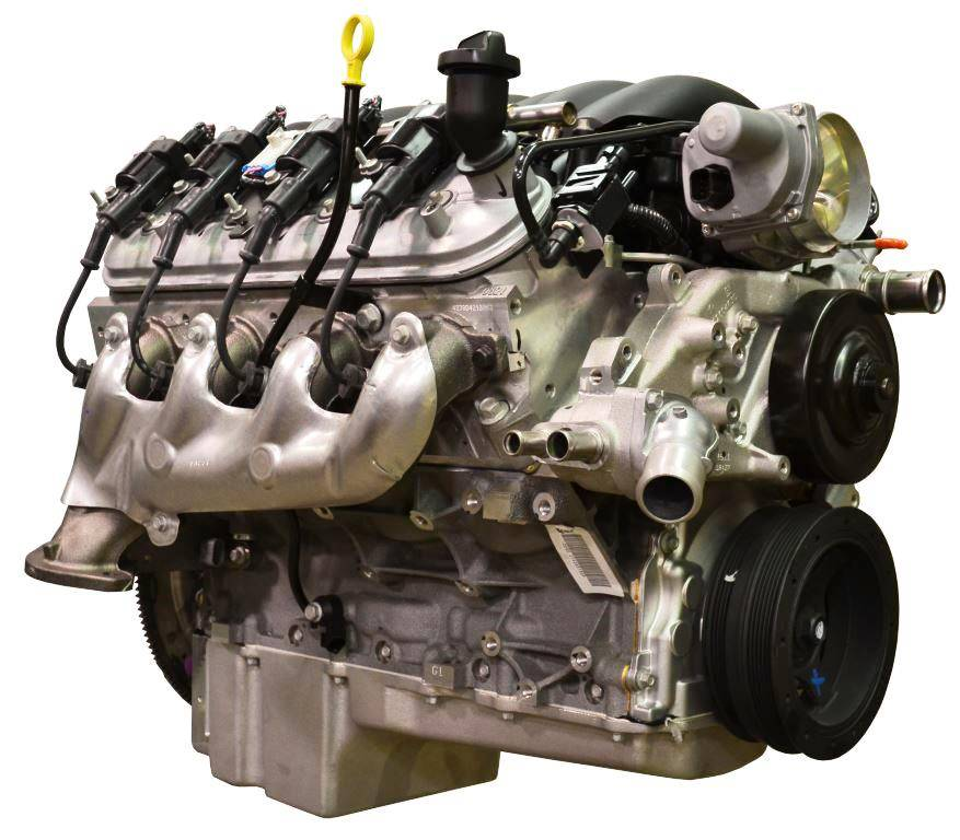 GMP-19370411-PX Pace Prepped & Primed LS3 495HP Engine with
