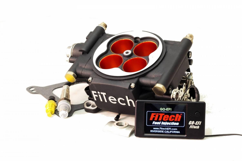 fth 30004 fitech fuel injection go efi power adder 600 hp basic kit matte black finish. Black Bedroom Furniture Sets. Home Design Ideas