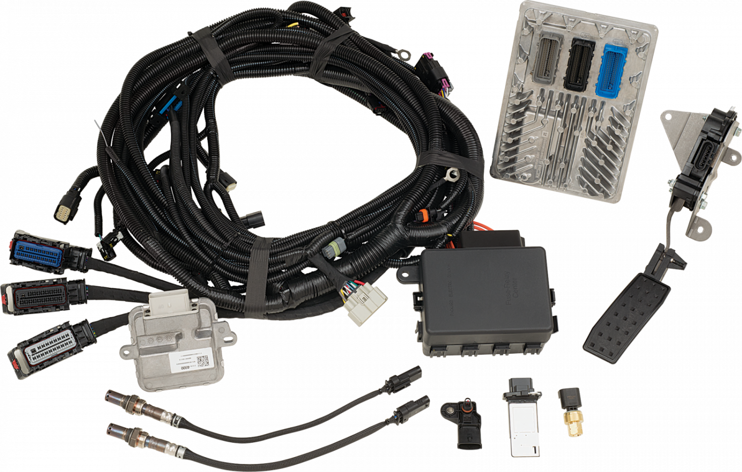 F139645561 chevrolet performance 19303137 lt1 engine controller kit lt1 plug and play wiring harness at mifinder.co
