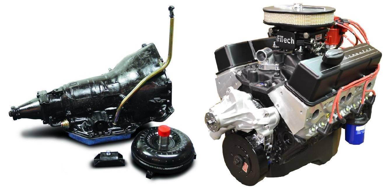 BP35513CT1 - Pace Fuel Injected SBC 355CID 390HP EFI Black Finish
