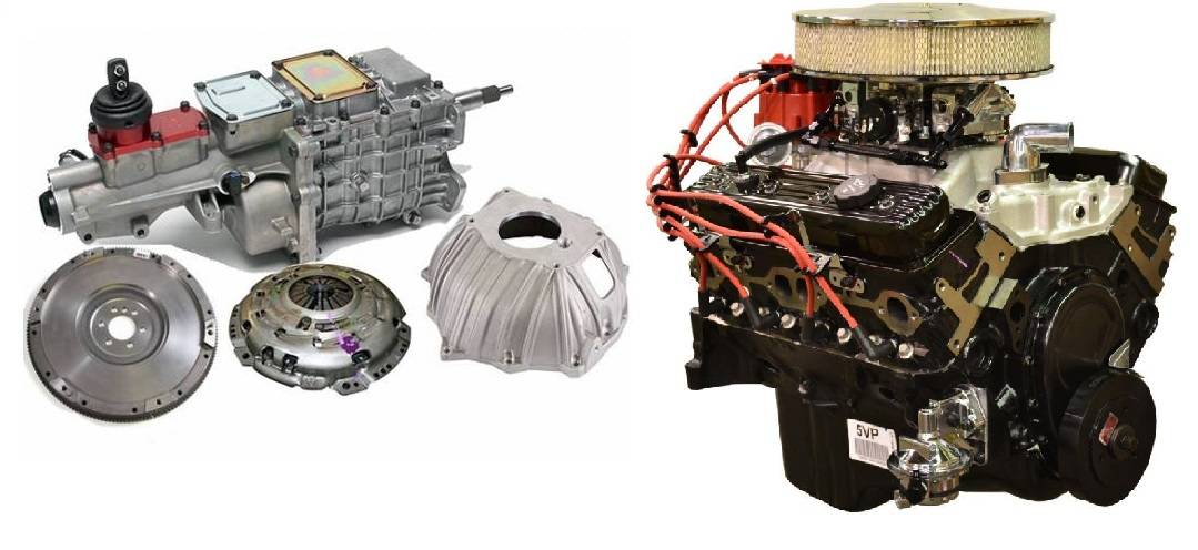 10067353 Pace Fuel Injected SBC 350 350HP EFI Turnkey Engine with