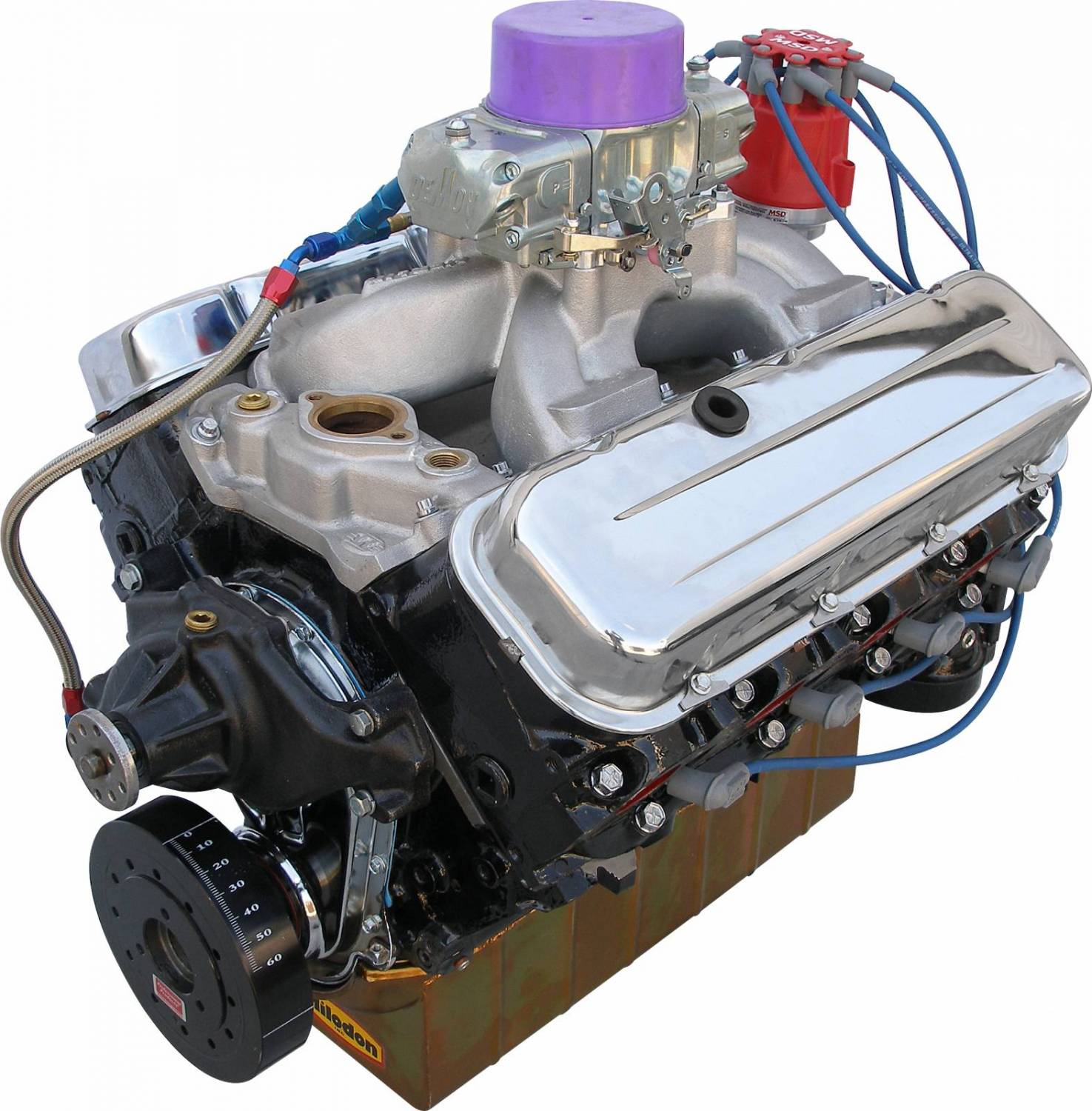 MBP4960CTC - BluePrint Engines 496CI 460HP Stroker Marine Crate