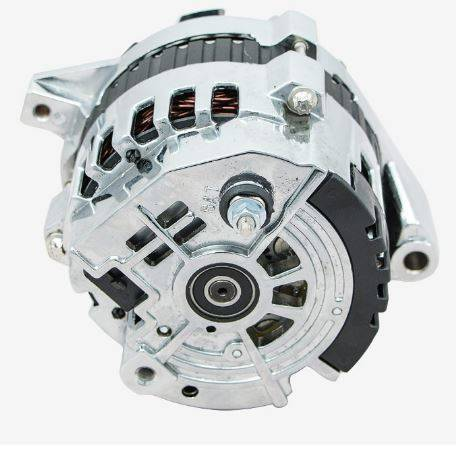 TSP-ES1003C - 110 AMP Chrome 1-Wire Alternator, CS130 Case