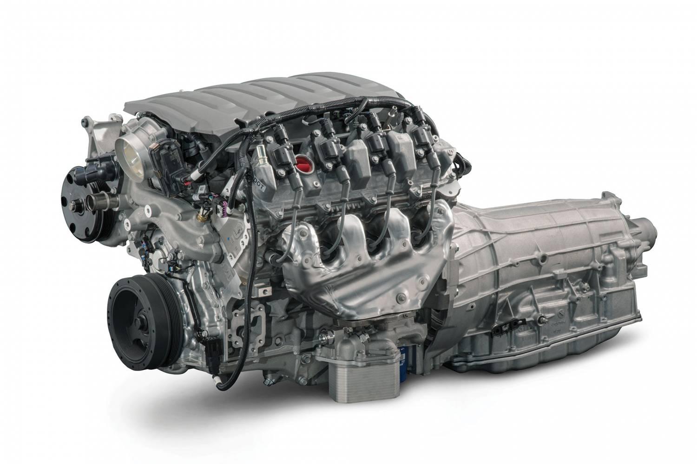 Chevrolet Performance Parts - CPSLT1W8L90E - GM LT1 455HP Wet Sump Engine  with 8L90E 8-