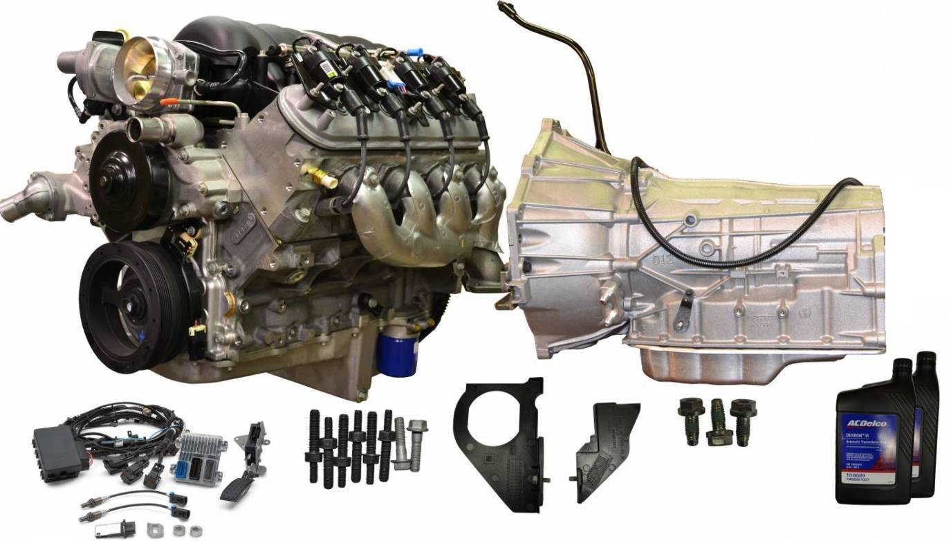 PACE Performance - CPSLS36L80E-X-4WD GM LS3 430HP Engine with 6L80E 6-