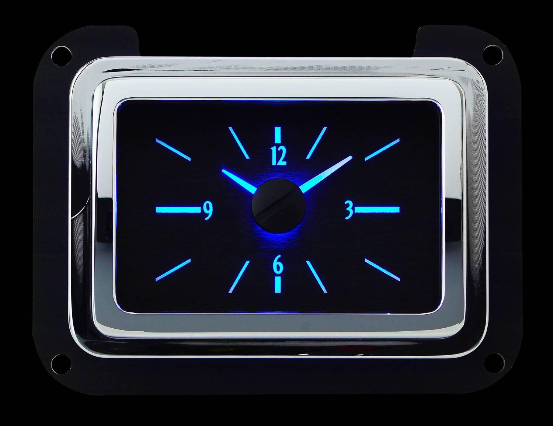 Dakvlc 40f K B 1940 Ford Car Analog Clock Black Alloy Style Face Complete Wiring Harness Dakota Digital