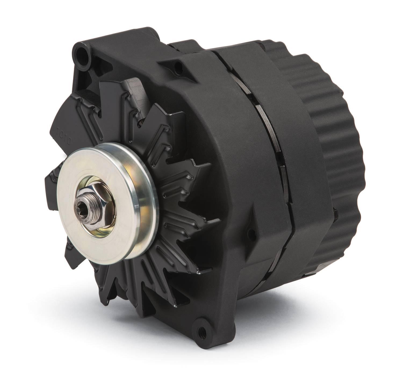 664481N - Alternator; 100 AMP, GM 1-Wire Style, V-Belt Pulley, Black ...