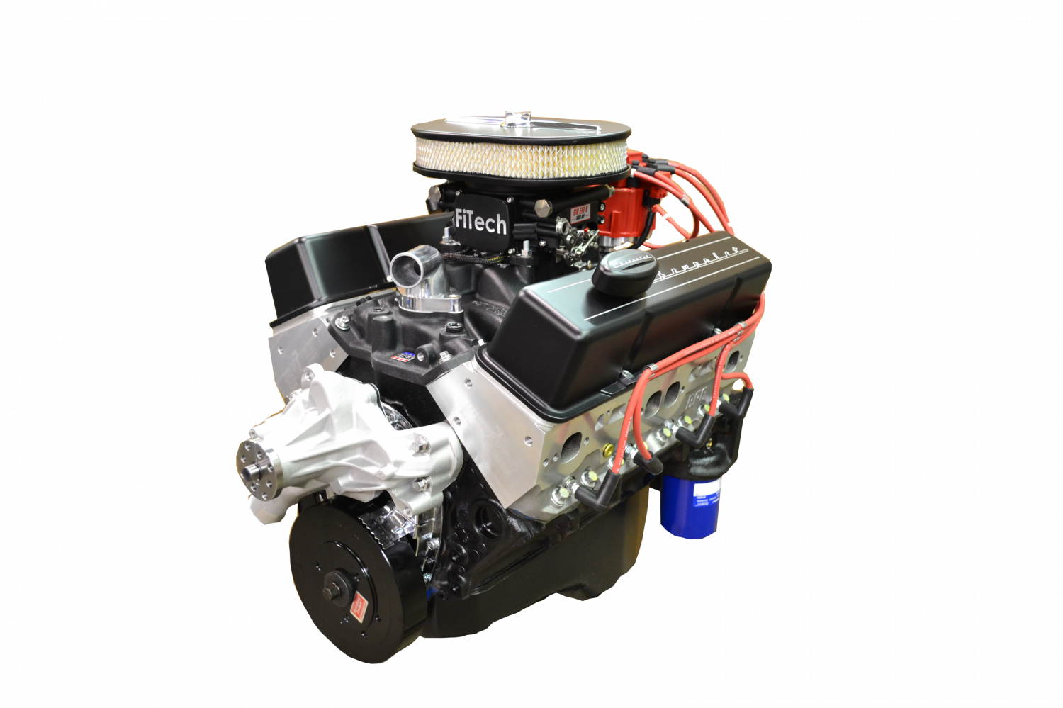 Bp38313ct1 pace sbc 383430hp efi black trim crate engine with 0 malvernweather Image collections