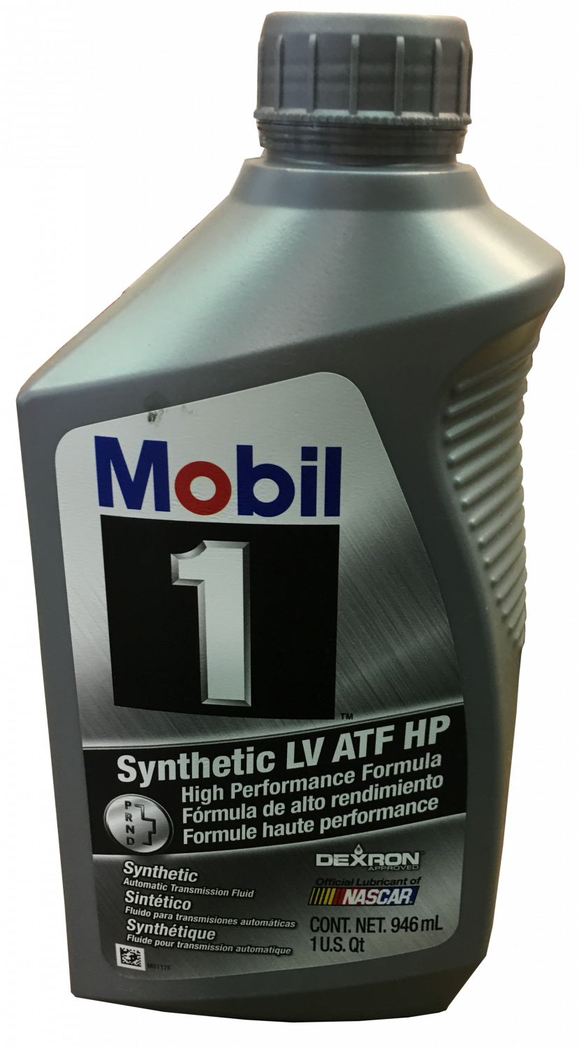 19353429 Mobil 1 Synthetic Lv Atf Hp Transmission Fluid 1 Quart Container