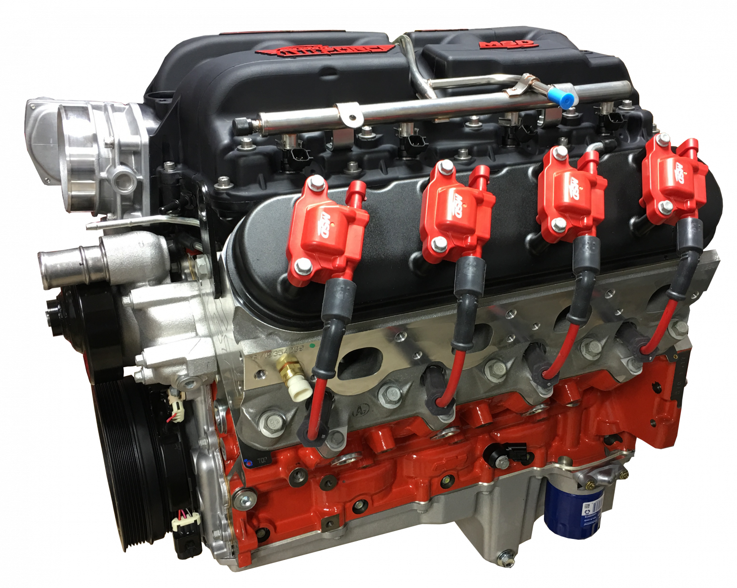 PACE Performance - GMP-19355573-7AFO - Pace Exclusive LSX 454 599HP Crate  Engine