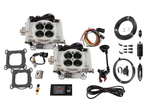 FTH-31061 - Go EFI 2x4 System Master Kit w/ Inline Fuel Pump
