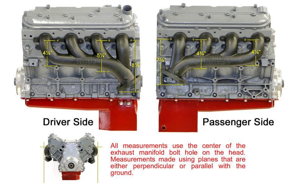 HD68746 - Hedman Hedders Ls Engine Swap Cast Exhaust