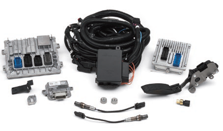chevrolet performance parts - 19370666 - cpp lt5 controller kit - contains  pre-programmed ecu