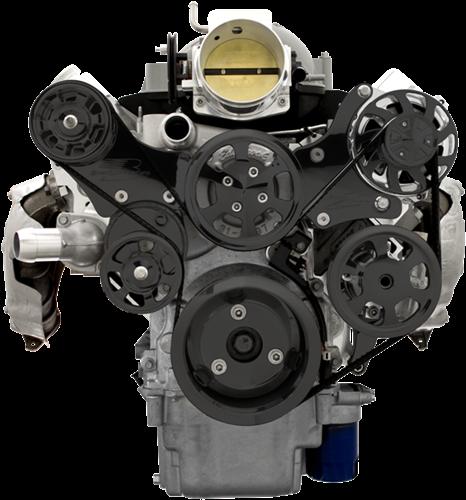 LS (Except LS7) Serpentine System - Alternator And Power
