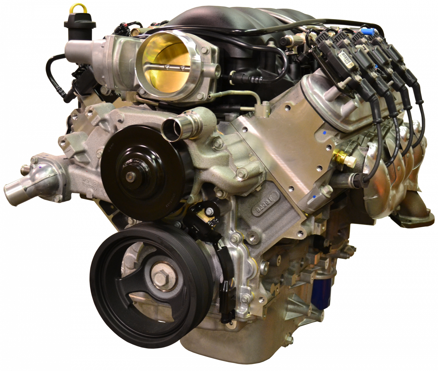 Chevrolet Performance Ls3 430 Hp Engine With 6l80e 6 Speed Auto Transmission Combo Package Cpsls36l80e