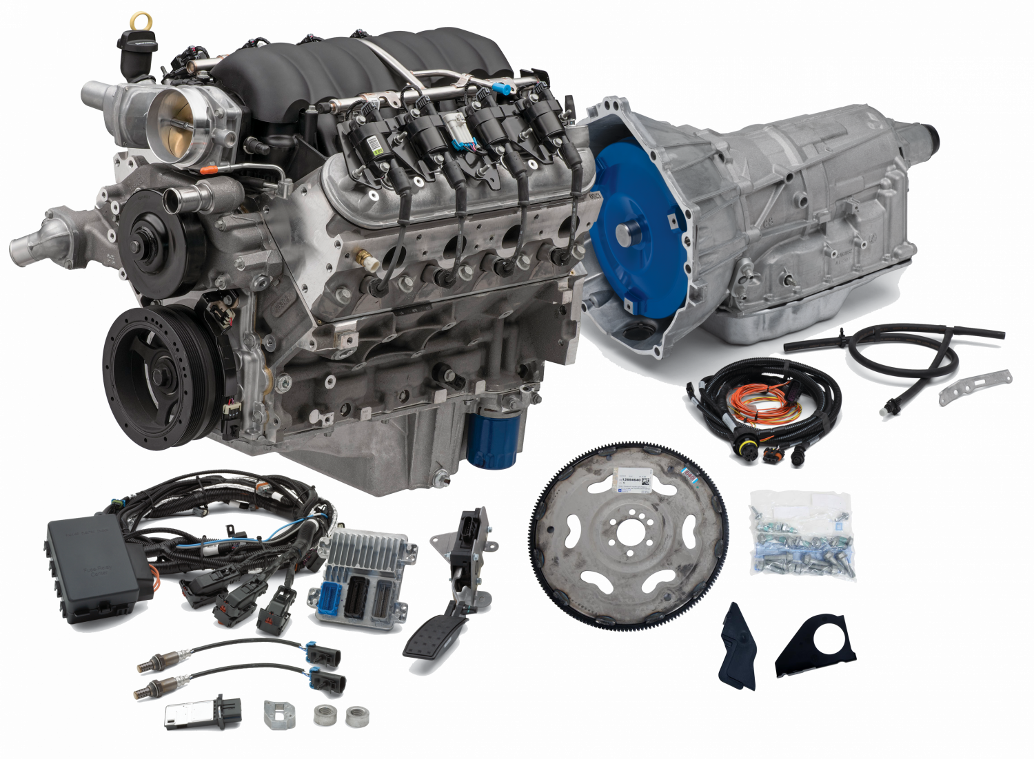 CPSLS3764806L80E - Chevrolet Performance LS3 495HP Engine with 6L80E  6-Speed Auto Transmission Combo Package | Chevrolet L99 Engine Diagram |  | Pace Performance