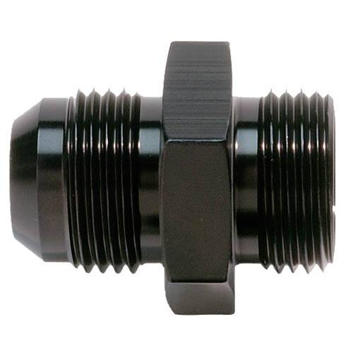 RUSSELL 610045 FULL FLOW HOSE END STRAIGHT 10AN ALL BLK FINISH