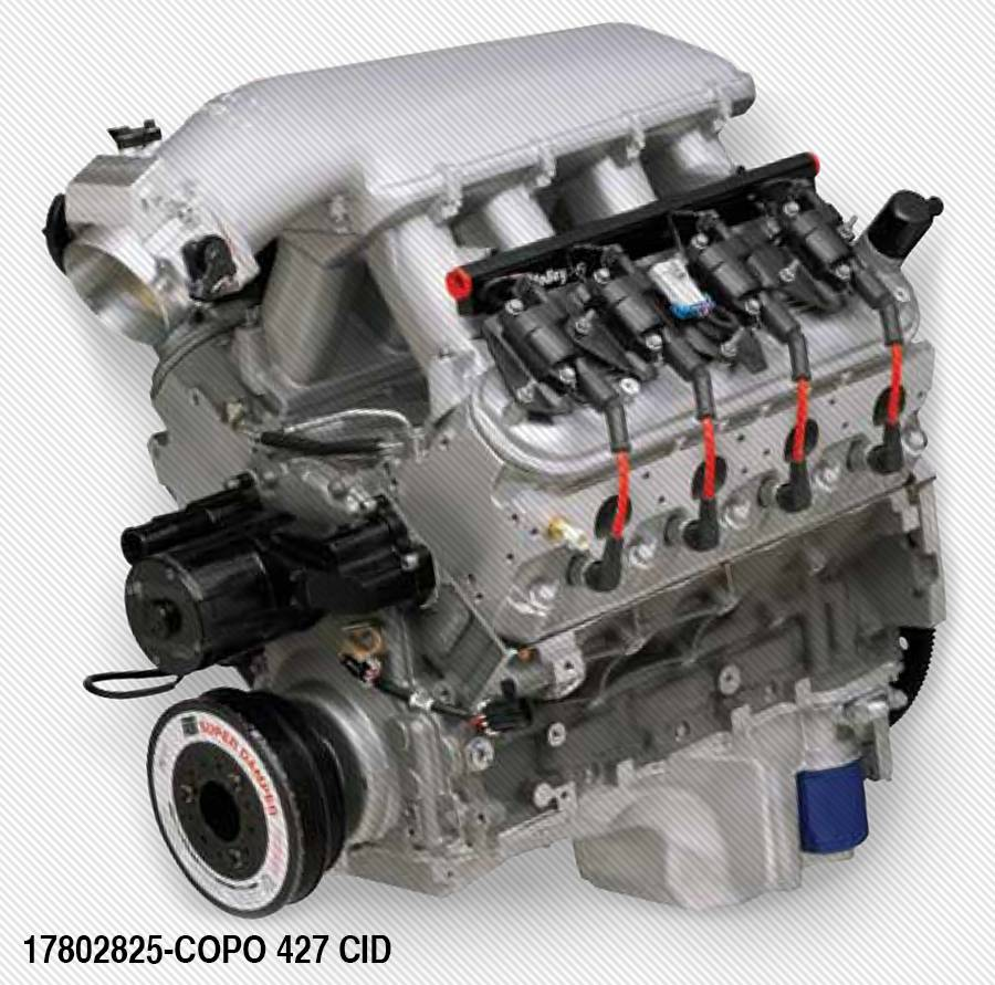 Chevrolet performance parts 17802825 copo ls 427 425hp crate engine