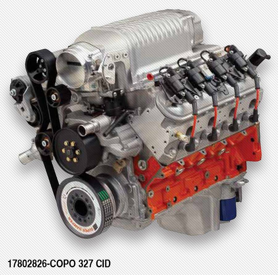 Sbc Performance Upgrades: COPO LS 327-2.9L S/C 500hp Crate Engine
