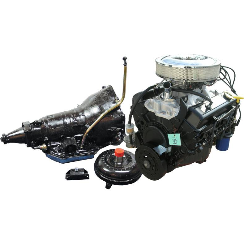 10067353 Chevy 350 Carb To Pan Crate Engine With Th350