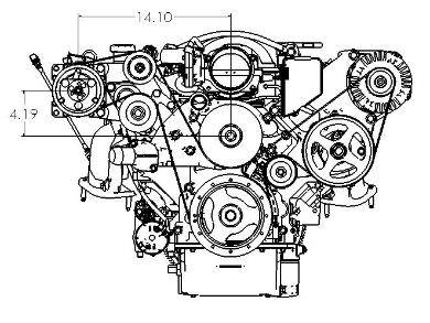 14144 Old School Meets New Lsa Motor Into 87 Buick Grand National 2 additionally 2003 Impala 3800 Water Pump Location likewise Chevy Avalanche 5 3 Engine Diagram in addition  on ls1 ac compressor diagram