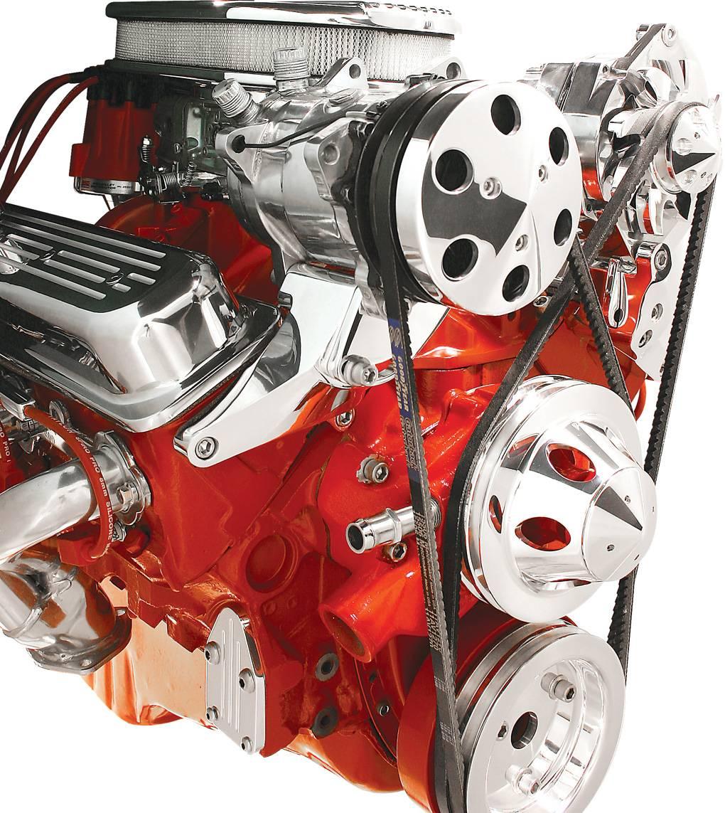 BSP10721 - Billet Specialties Bracket Compressor (508) Top