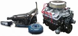 PACE Performance - GMP-4L60E350HO-1 -  Pace SBC 350CID 330HP Chrome Finish Turnkey Engine with 4L60E Transmission Package