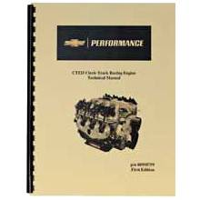 Chevrolet Performance Parts - 88958759 - CPP Circle Track Crate Engine Technical Manual For 19271821 (CT525)