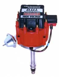 Davis Unified Ignition - DUI-12720-ZZ502RD - Davis Unified GM ZZ502 HEI Performance Distributor with Red Cap