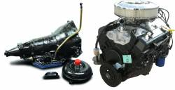 PACE Performance - GMP-TH3507353-1 Pace SBC 350CID 260HP Turnkey Engine with TH350 Transmission Package