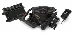 Holley Performance - HLY550-406 - Holley Terminator 950CFM EFI Throttle Body Fuel Injection System, Hard Core Gray