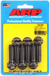 ARP - ARP1540901 - Bellhousing to Engine Block Bolt Kit, Ford 289-302-351W small block - Automatic Transmission, Black Oxide, Hex Head, 1.500 OAL, 7/16-14