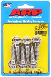 "ARP - ARP4290902 - Chevrolet V6 & V8, Bellhousing to Engine Block Bolt Kit, Stainless Steel, 12 Point Head, 1.375"" UHL, 3/8-16 Thread"