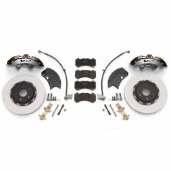 PACE Performance - GMP-22959672-S - Camaro SS Silver Brembo Front 6-Piston Upgrade Kit