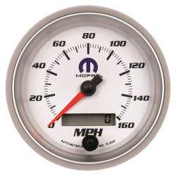AutoMeter - AutoMeter MOPAR Electric Programmable Speedometer 880036