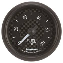 AutoMeter - AutoMeter GT Series Electric Fuel Pressure Gauge 8063