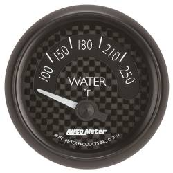 AutoMeter - AutoMeter GT Series Mechanical Water Temperature Gauge 8037