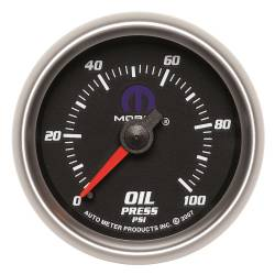 AutoMeter - AutoMeter MOPAR Mechanical Oil Pressure Gauge 880014