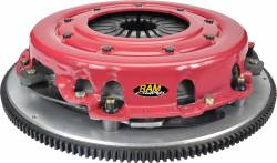 Ram Clutches - Ram Clutches RTrack Street Complete Dual Disc Metallic Clutch Assembly 90-2230N