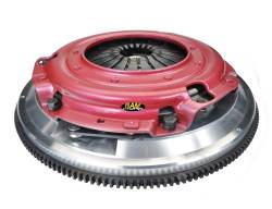 Ram Clutches - Ram Clutches Force 9.5 Complete Dual Disc Organic Clutch Assembly 75-2410