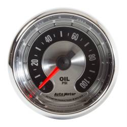 AutoMeter - AutoMeter American Muscle Oil Pressure Gauge 1219