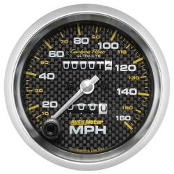 AutoMeter - AutoMeter Carbon Fiber Mechanical Speedometer 4793